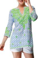 Gretchen Scott Geo Embroidered Tunic