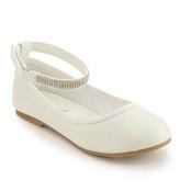 Jelly Beans White Wacy Ballet Flat