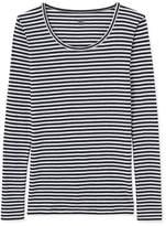 Petit Bateau Women's long-sleeved Colette striped T-shirt