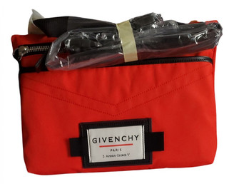 Givenchy Red Cloth Bags