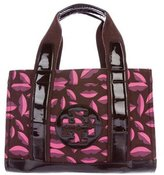 Tory Burch Leather-Trimmed Ella Tote