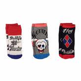 Asstd National Brand 3-pc. DC Comics Low Cut Socks