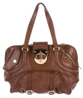Alexander McQueen Leather Flapper Bag