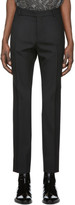 Saint Laurent Black Wool Trousers