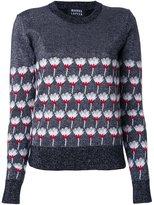 Markus Lupfer floral pattern pullover
