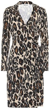 Diane von Furstenberg Jeanne Two leopard-print silk dress