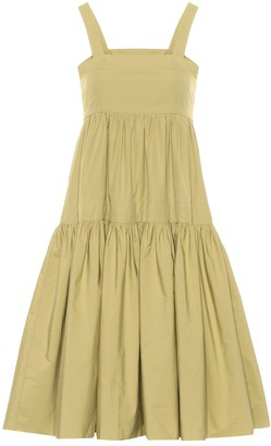 Three Graces London Cosette cotton-poplin dress
