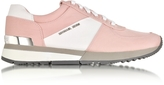 Michael Kors Allie Blossom Nylon and Saffiano Leather Sneaker