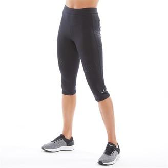 Ronhill Ron Hill Womens Infinity Running Capri Leggings All Black