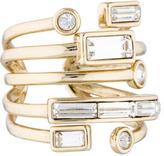 Alexis Bittar Crystal 5-Band Ring