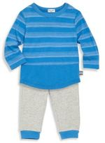 Splendid Baby's Two-Piece Striped Tee & Jogger Pants Set