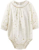 Osh Kosh Sparkle Star Print Bodysuit