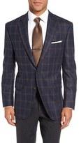 Peter Millar Men's 'Flynn' Classic Fit Windowpane Wool & Cashmere Sport Coat