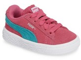 Puma Infant Girl's Suede Sneaker