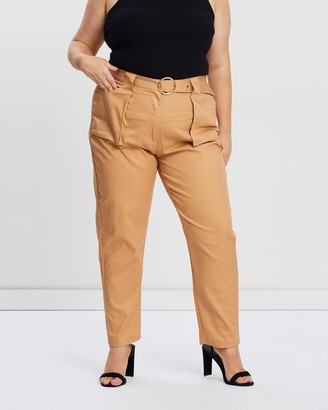 Missguided Curve Belt Detail Cargo Trousers