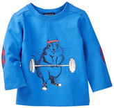 Andy & Evan Workout Squirrel Tee (Baby Boys)