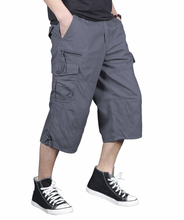 Men/'s Soul Star Chino Shorts Smart Summer Casual Cargo Stretch Cotton Shorts