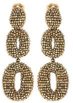 Oscar de la Renta Oscar O beaded earrings