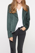 Sanctuary Suede Moto Jacket