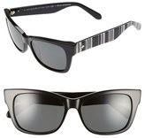 Kate Spade 'alora' 53mm Polarized Sunglasses