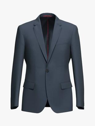 HUGO BOSS by Henry204 Virgin Wool Slim Fit Blazer, Dark Blue