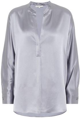 Vince Silk-satin blouse