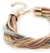 Warehouse Snake Chain Twist Bracelet