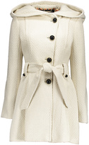 Steve Madden Ivory Wide-Hood Trench Coat - Plus Too
