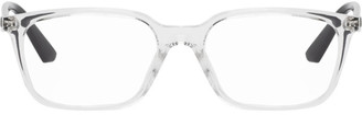 Ray-Ban Transparent and Black Rib Glasses