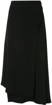 Brunello Cucinelli Midi A-Line Skirt