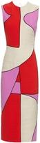 Roksanda Kerrigan contrast-panel linen dress