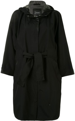 Herno Gore loose-fit hooded coat