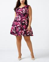 Penningtons ONLINE ONLY Fit and Flare Scuba Dress