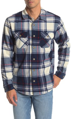 Valor Collective Albany Plaid Regular Fit Faux Fur Lined Shirt