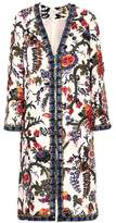 Tory Burch Rylie crystal-embellished linen jacket