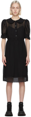 Marc Jacobs Black The Kat Dress