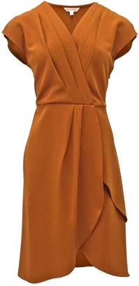 Nanette Nanette Lepore Pleated Wrap Slit Dress