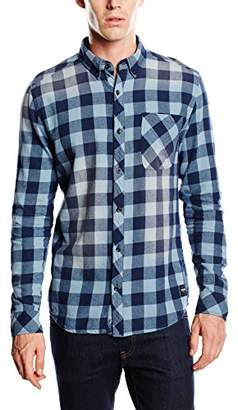 ONLY & SONS Men's ONSMAGUST Checkered Long Sleeve Casual Shirt