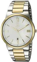 Jivago Men's JV3512 Clarity Analog Display Quartz Two Tone Watch