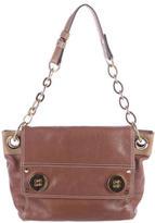 Milly Button-Embellished Shoulder Bag