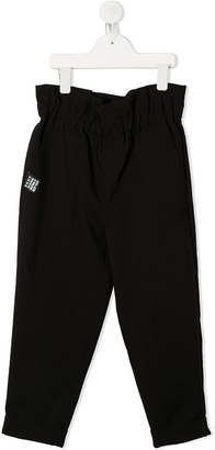 DKNY Logo Paperbag Trousers