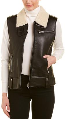 Walter Baker Lisa Leather Vest