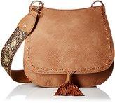 Steve Madden Swiss Cross Body Handbag,Tan