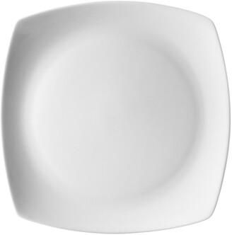 Ten Strawberry Street Aurora Square Set Of Six 10.75In Dinner Plates