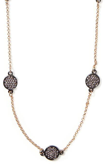 Banana Republic Sparkle Coin Necklace