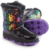 Khombu Shine Snowflake Snow Boots (For Toddlers)