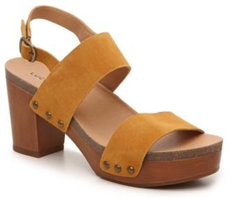 Lucky Brand Hairmony Platform Sandal