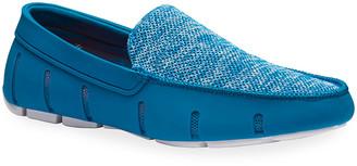 Swims Men's Mesh/Rubber Venetian Driver Loafers