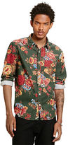 Denim & Supply Ralph Lauren Floral-Print Corduroy Shirt