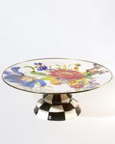 Mackenzie Childs MacKenzie-Childs Large Flower Market Pedestal Platter